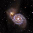 Whirlpool Galaxy M51,                                AstroEdy