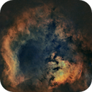 SH2-171 and a rare jewel (starless hubble palette),                                Terry Hancock