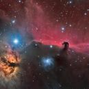 Horsehead and Flame Nebula,                                Barry Wilson