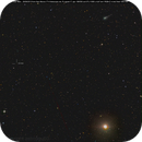 cometa C/2012 S1 Ison vicino a Marte e all'asteroide Eros,                                Rolando Ligustri