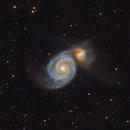 Whirlpool Galaxy (M51),                                lindlmax