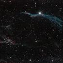 NGC6960: Veil Nebula,                                Claustonberry