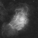 Lagoon Nebula in H-alpha,                                Orestis Pavlou