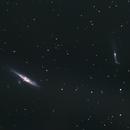 NGC4631/27 & NGC4656/57 Whale and Hummingbird (Crowbar) Galaxies,                                Phil Swift