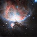 Orion Nebula - M42,                                Obaid Musabbeh