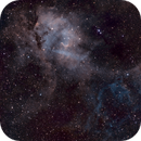Lion Nebula SH 2-132,                                Rich