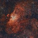 M16 Eagle Nebula,                                Alberto Pisabarro