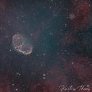 NGC6888 Bicolor Ha-Oiii,                                Themis Karteris
