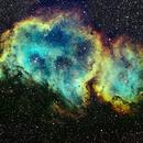 IC 1848 - Soul Nebula in Ha Sii Oiii L,                                Dennis Vollink