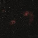 IC 405 & IC410,                                Matthias
