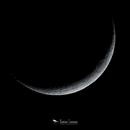 8% Waxing Crescent Moon,                                Damien Cannane
