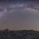 The Milky Way above Yosemite National Park,                                Dan Gallo