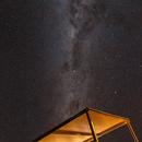 Under a roof of stars,                                Lorenzo Palloni