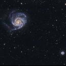 M 101, Pinwheel Galaxy,                                Juan B. Torre Valle