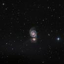 Whirlpool Galaxy,                                joec.