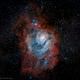 Lagoon Nebula,                                Hockeyscope
