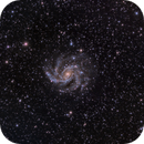 NGC 6946, The Fireworks galaxy,                                oernulfs