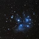 M45 - Les Pléiades - APO 66/400,                                Jean-Baptiste Auroux