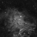 IC405 Flaming Star Nebula,                                skyimages
