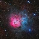 M20~Trifid_Nebula,                                Fluorine Zhu