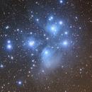 M45 The Pleiades,                                Komet