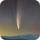 Comet Neowise - July, 2020 from Shenandoah NP.,                                rex.on.life