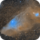 IC4592 The Blue Horsehead with IC4601,                                Jim Lindelien