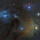 Rho Ophiuchi Cloud Complex 4/19/2015,                                Tom Masterson