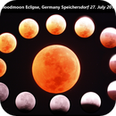Bloodmoon Eclipse 27. July 2018 Speichersdorf Germany,                                Dennis Kaiser