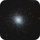 M5 Globular Cluster,                                Jerry Macon