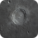 Crater Copernicus - in colour with the Moon 10 days 5 hours old,                                Niall MacNeill