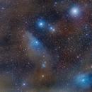 IC4592, IC4601 and Rho Ophiuchi:  A Cosmic Canvas  **REV. 2**,                                Fernando