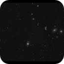 Virgo cluster with Markarian's chain,                                Göran Nilsson