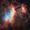 Prawn Nebula - IC 4628,                                marianofe