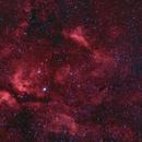 IC 1318 - gamma Cygni Nebula - HaRGB,                                gigiastro