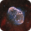 NGC 6888, the Crescent Nebula,                                Patrick Hsieh