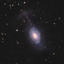 NGC 4651 (ARP 189) - Umbrella Galaxy with ASI 294 MC Pro.,                                Jeffbax Velocicaptor