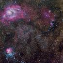 M8, M20, AND NCG 6559 in Sagittarius,                                Vincent Giranda