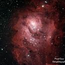 Messier 8 Lagoon Nebulae,                                Murat SANA