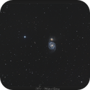 M51 - Whirpool Galaxy - 7 juillet 2018,                                dsoulasphotographie