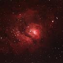 M8 Lagoon Nebula,                                Pat Darmody