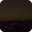 Orion rising over Grand Canyon, composition check shot (Astrotracer),                                AlenK