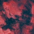Pelican Nebula,                                Mike Brady