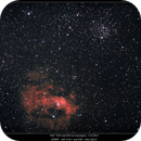 NGC 7635 and M52 on 7/22/2014,                                rigel123