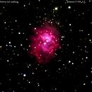 ngc7538 nebulosa a emissione  nel cepheus                     distanza 9 miloni 100 mila A.L.,                                Carlo Colombo
