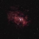 The Bubble Nebula NGC 7635 Canon 6D,                                Jason Brown
