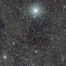 Integrated Flux Nebula // IFN @ Polaris - (2x drizzled) crop,                                Thilo