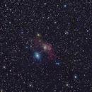 M52 and NGC 7635 (Bubble Nebula) w/ Full Spectrum Modified 1000d ,                                Tankcdrtim
