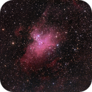 M16 - Eagle Nebula,                                Jannick Petersson