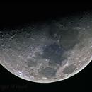 The Moon in narrowband,                                Komet